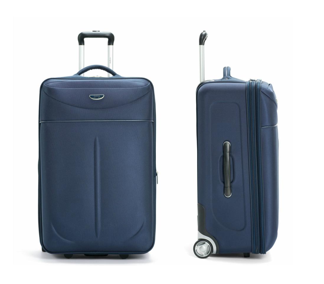 Carpisa bagaglio a mano 50x40x20 for Bagaglio a mano con custodia per laptop rimovibile