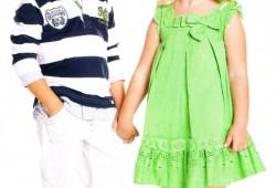 nucleo abbigliamento bambino