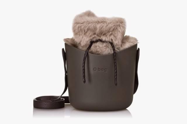 o bag con pelliccia