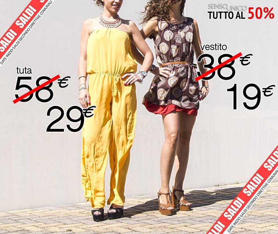 Catalogo Abbigliamento Senso Unico Saldi Estivi 2016