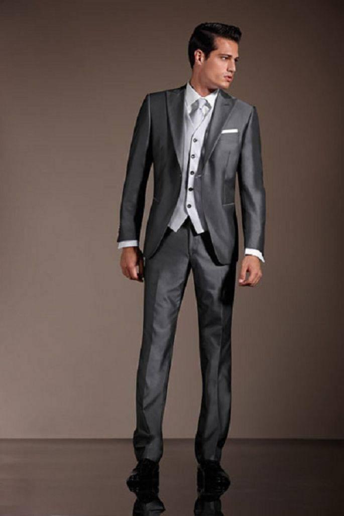 Vestito Matrimonio Uomo Grigio : Taglie forti uomo ovs gnius moda