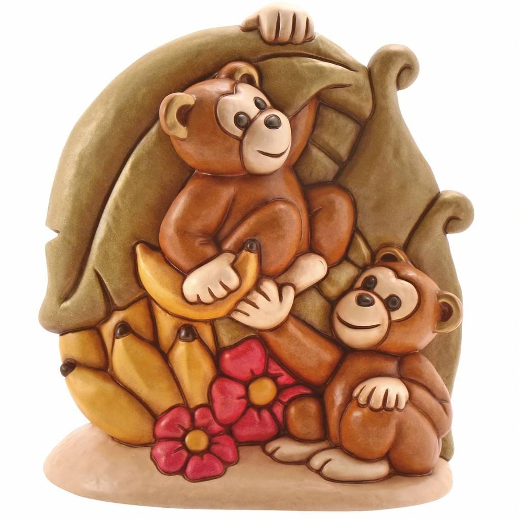 Scimmiette thun simbolo di una leggenda giapponese da for Offerte thun 2016