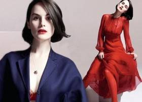 Michelle Suzanne Dockery ha la stessa eleganza di Lady Mary Crawley