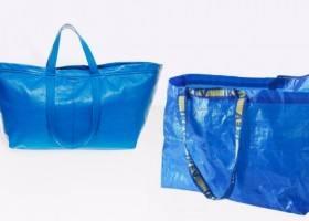 La Borsa Blu Ikea si trasforma in Alta Moda