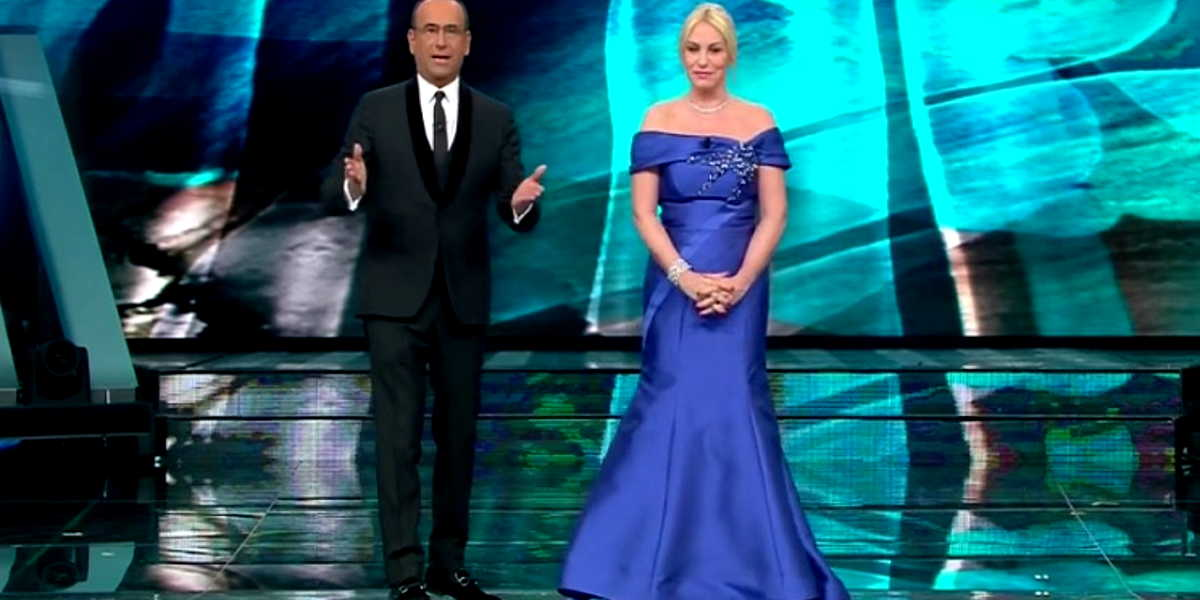 Gli abiti più belli di Antonella Clerici indossati nei programmi TV della RAI