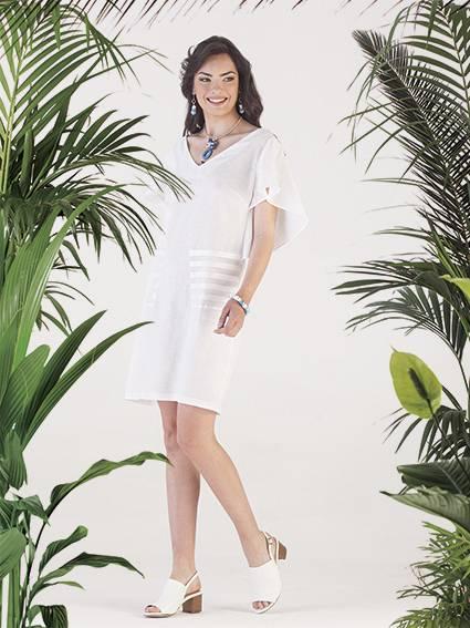 Capsule Collection Cannella -abito bianco
