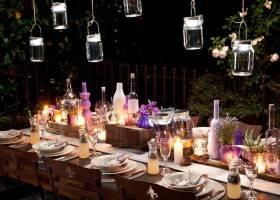 Luci da Giardino Fai da Te per una Festa con gli Amici
