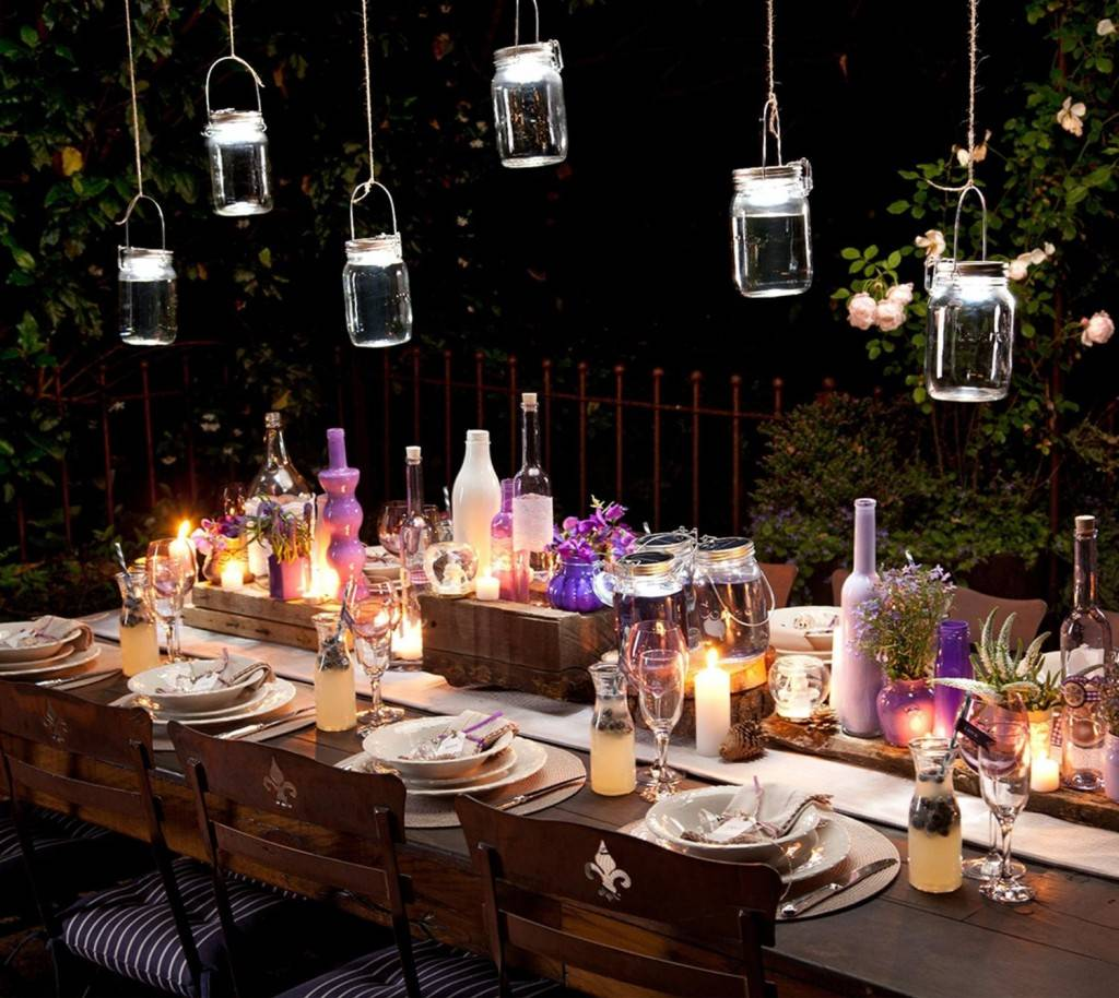 Lanterne da giardino fai da te idee giardino arredando - Fontana da giardino fai da te ...