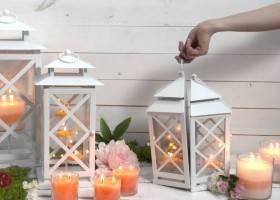 Lanterne da Giardino Fai da Te