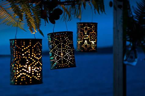 lanterne da giardino fai da te 10