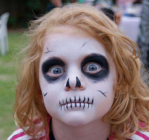 Trucco Halloween per Bambini Zombie