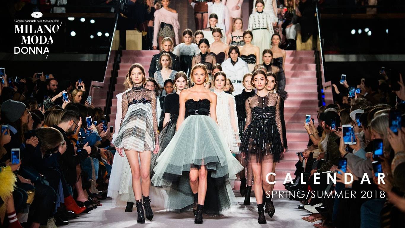 Milano moda 2017 donna collezione spring summer 2018 for Liceo di moda milano