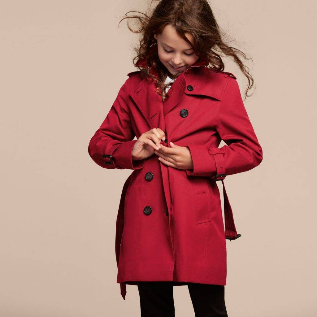 Trench Burberry Bambina