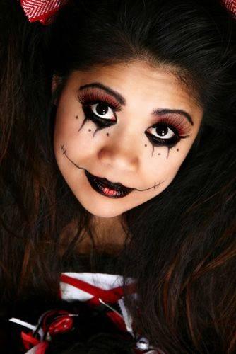 Trucco Halloween per Bambini Strega
