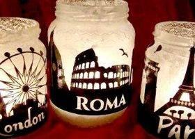 7 Idee per decorare i barattoli di vetro per rendere più bella la tua casa!