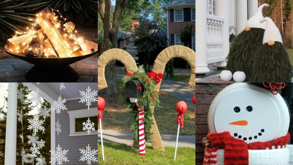 Decorazioni natalizie fai da te per una natale pieno di gioia - Decorazioni natalizie fai da te per esterno ...