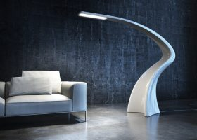 Lampade da terra di design per donare eleganza e personalt - Lampade di design famose ...