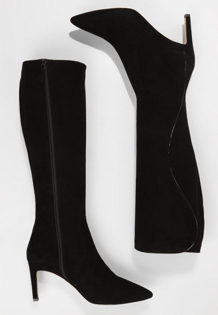 Stivali indossati da Francesca Fialdini