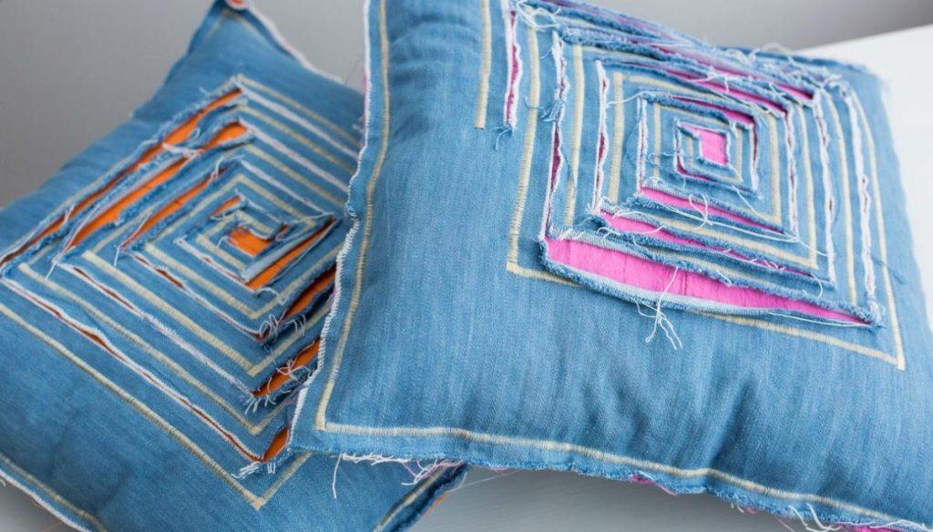 7 idee per recuperare i vecchi jeans