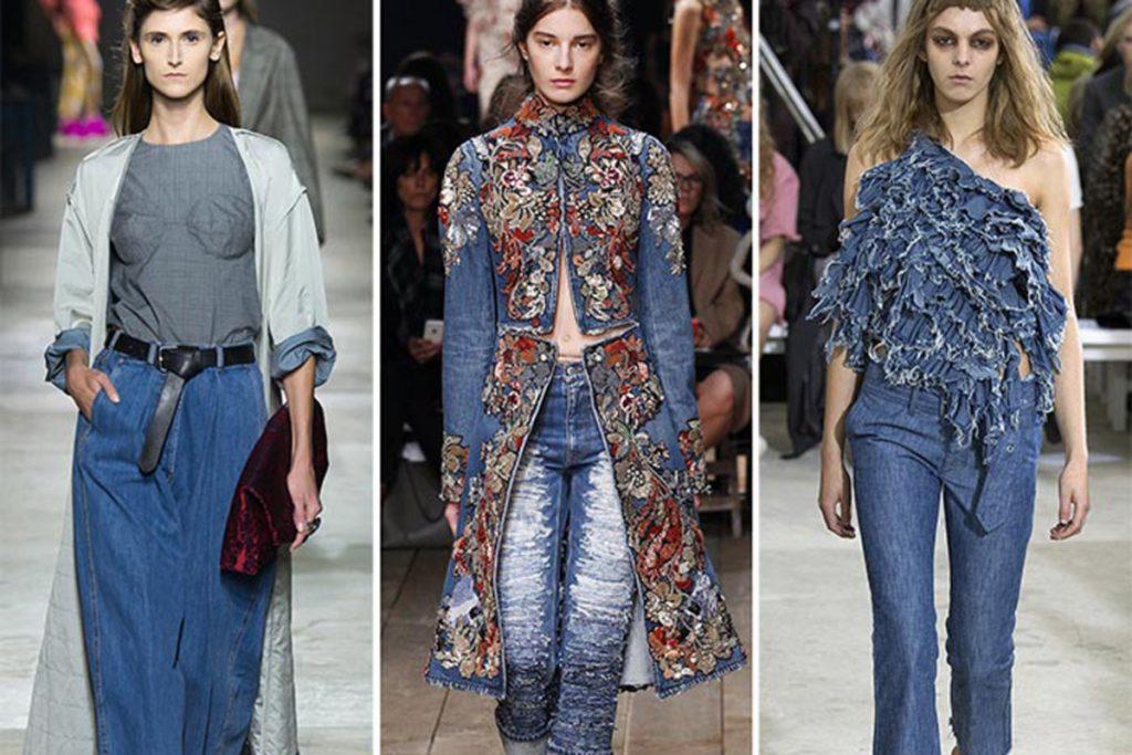 In primavera tornano i jeans