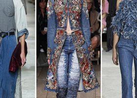 In primavera tornano i jeans, qui i look più gettonati