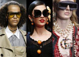 Occhiali da sole 2018, la moda del momento