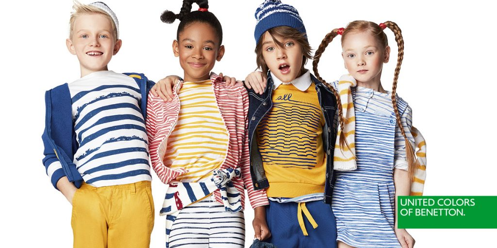 Catalogo Benetton Bambini primavera estate 2018