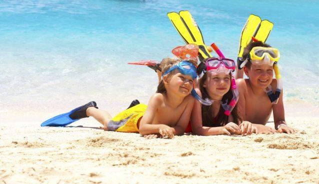 Accessori per il mare per i bambini