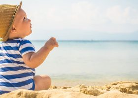 Che crema solare usate per i bambini