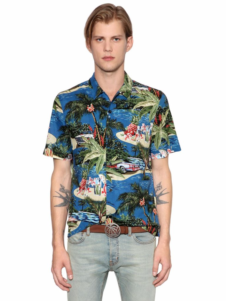 Camicia da Uomo stampata