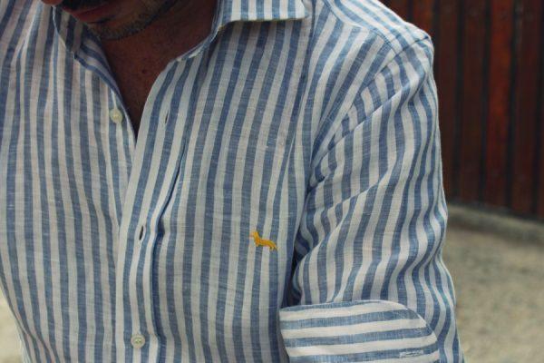 camicie di lino da Uomo
