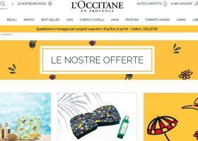 L'Occitane shop online per acquistare con rapidità