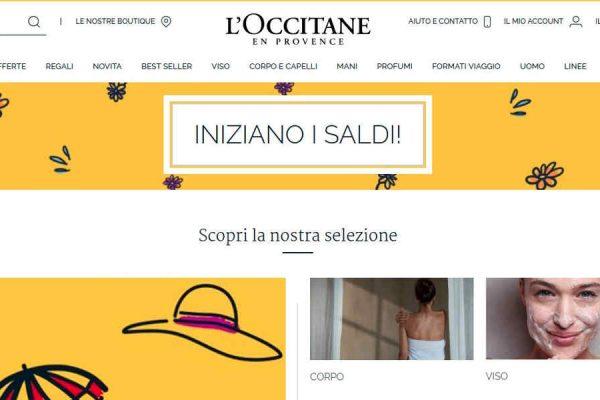 Offerte su l'e-shop L'Occitane