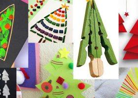 Lavoretti di Natale per i bambini.