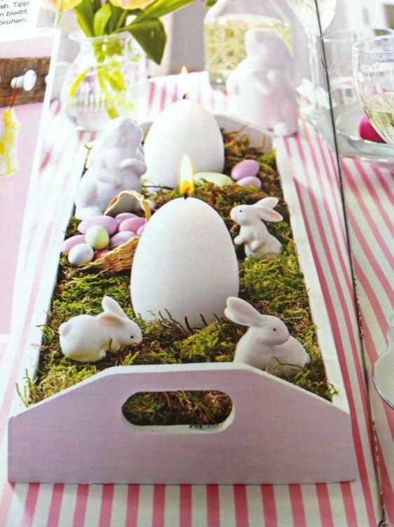 Apparecchiare la tavola di Pasqua