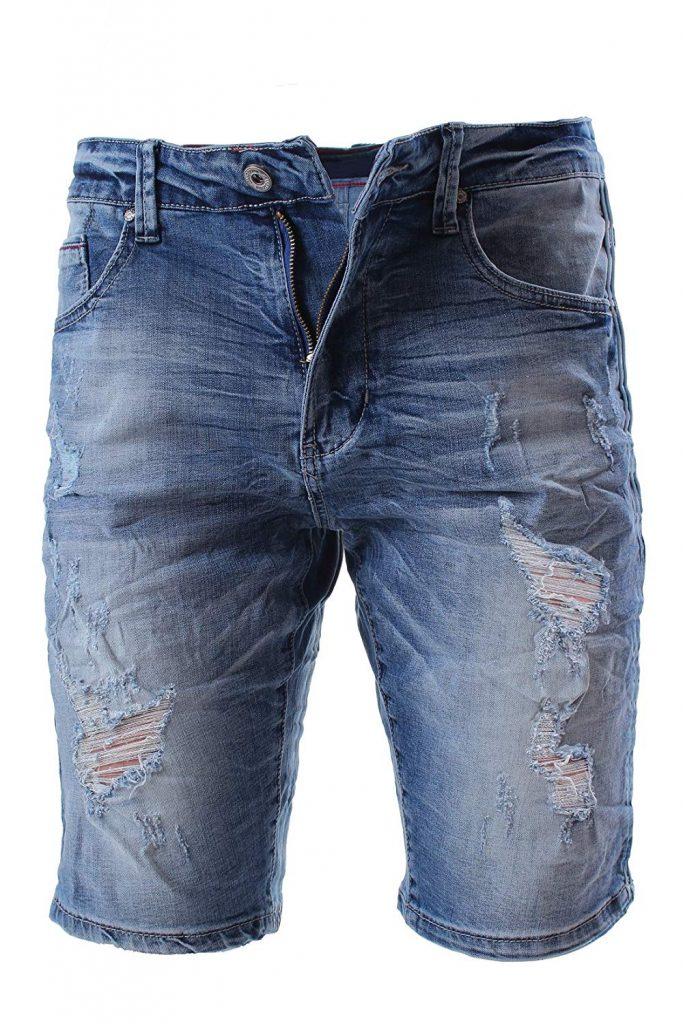 pantalone corto jeans