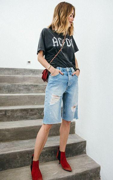 bermuda jeans fai da te