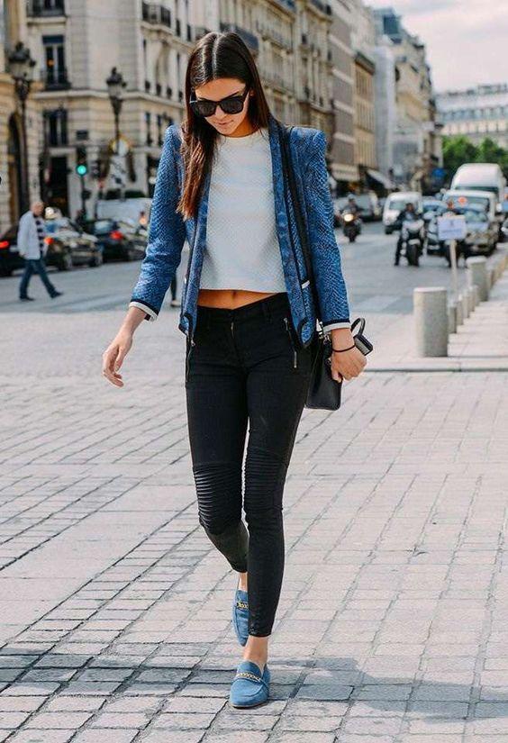 jeans neri strappati