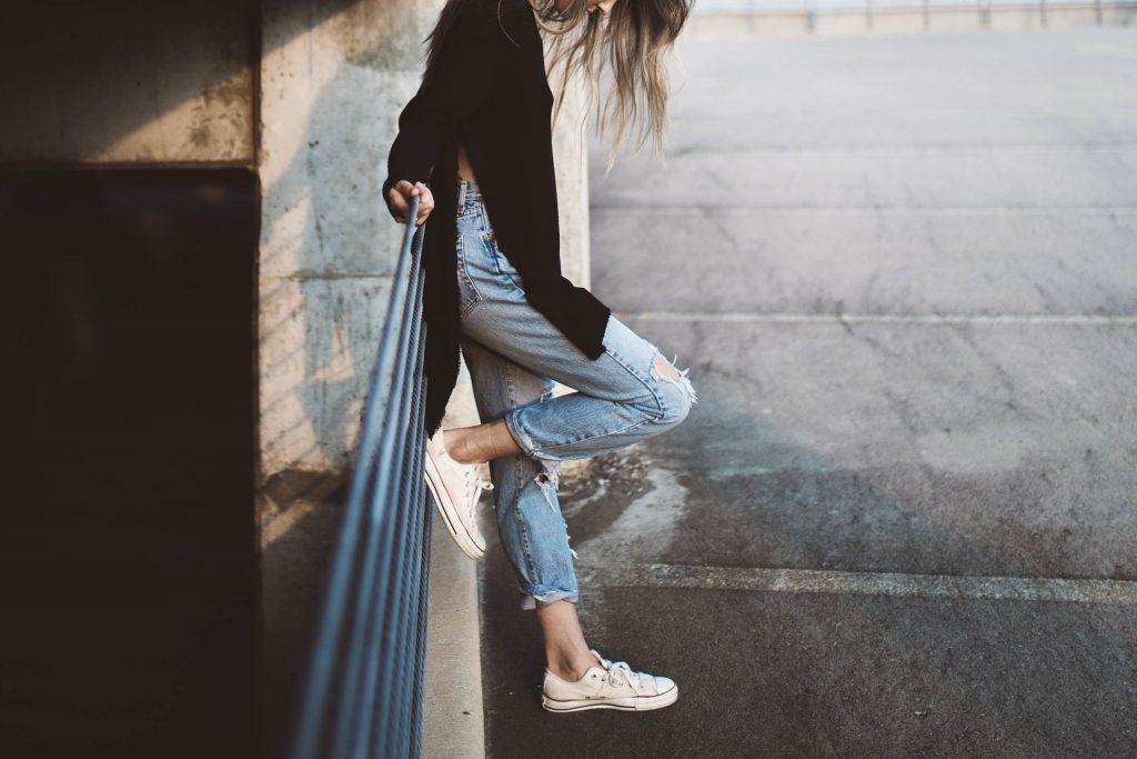 modello di jeans giusto
