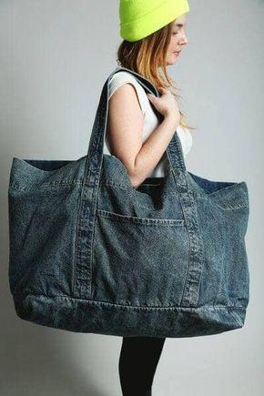 borse jeans riciclati