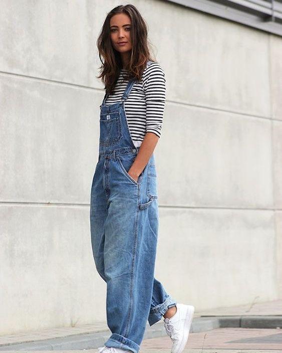 tuta di jeans