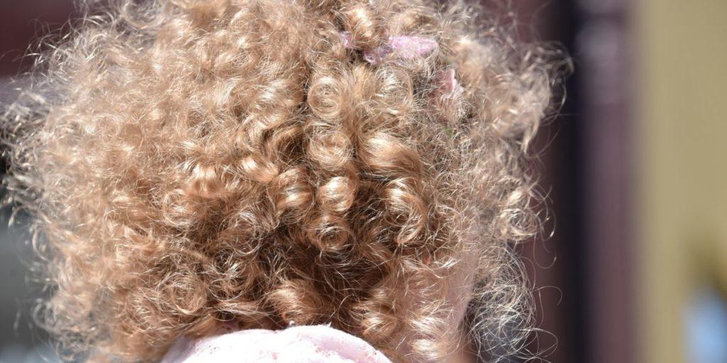 asciugare capelli ricci