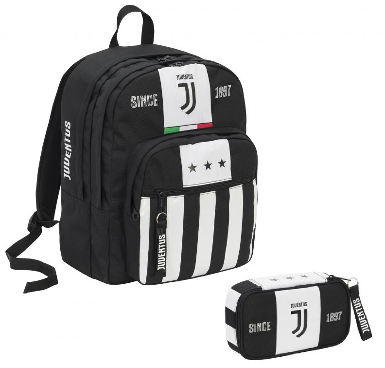 Zaino Big Plus e Astuccio Juventus