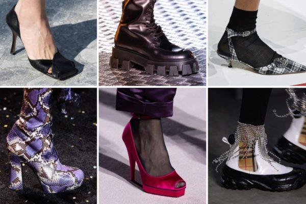scarpe moda inverno 2019