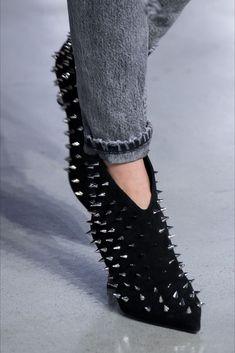 scarpe basse con borchie