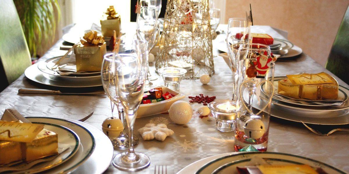 Immagini di tavole di Natale apparecchiate