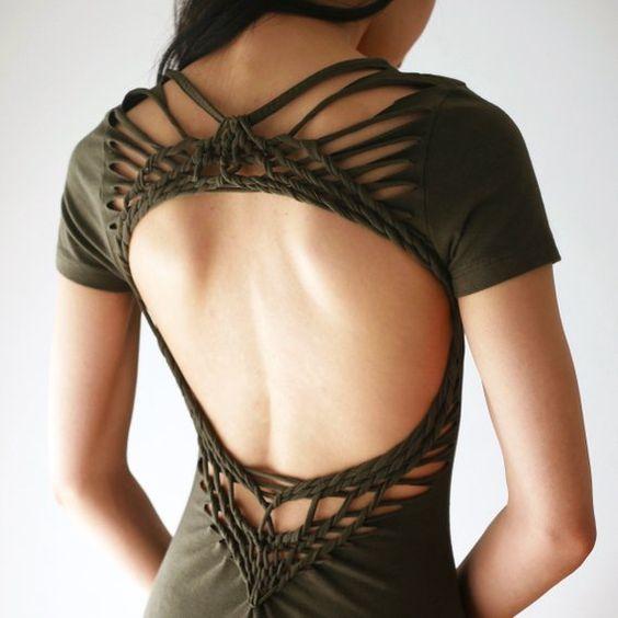 maglietta schiena scoperta