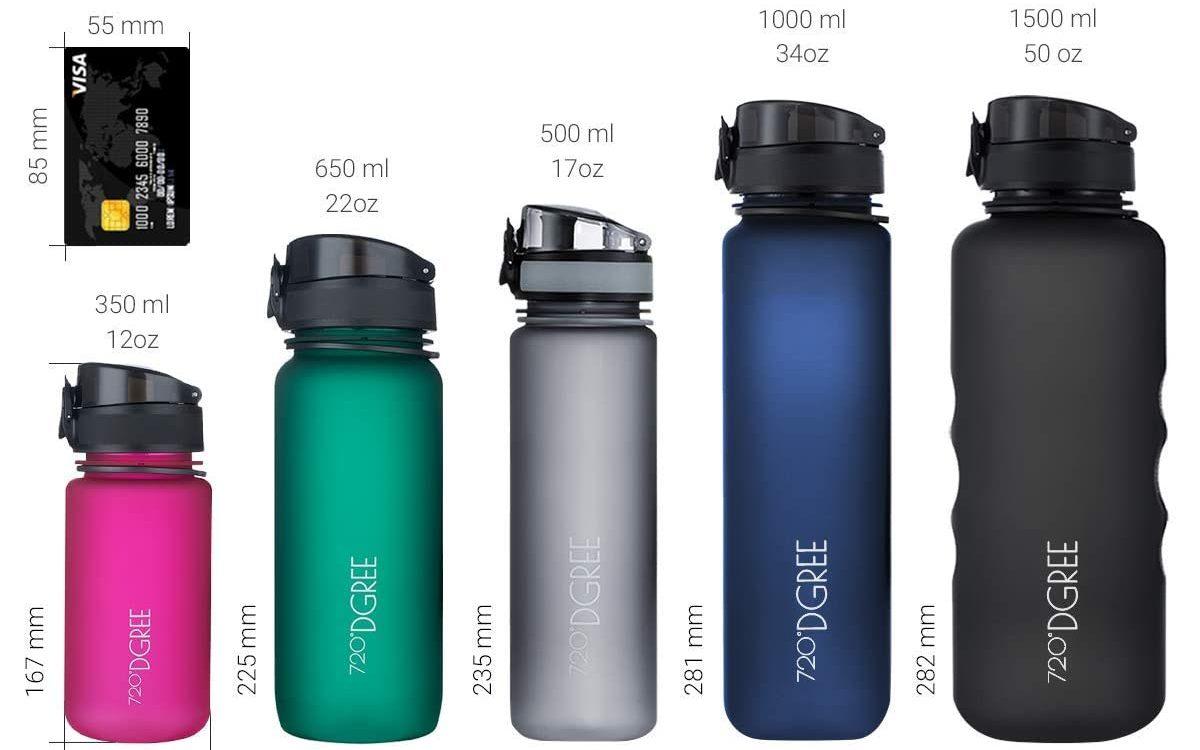 accessori per lo sport uber bottle 720 dgree
