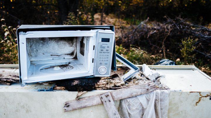Si può asciugare la biancheria nel microonde?